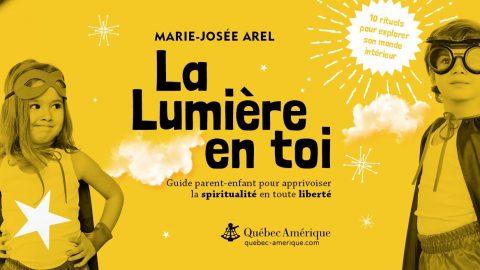 Invitation au lancement du livre «La lumière en toi»