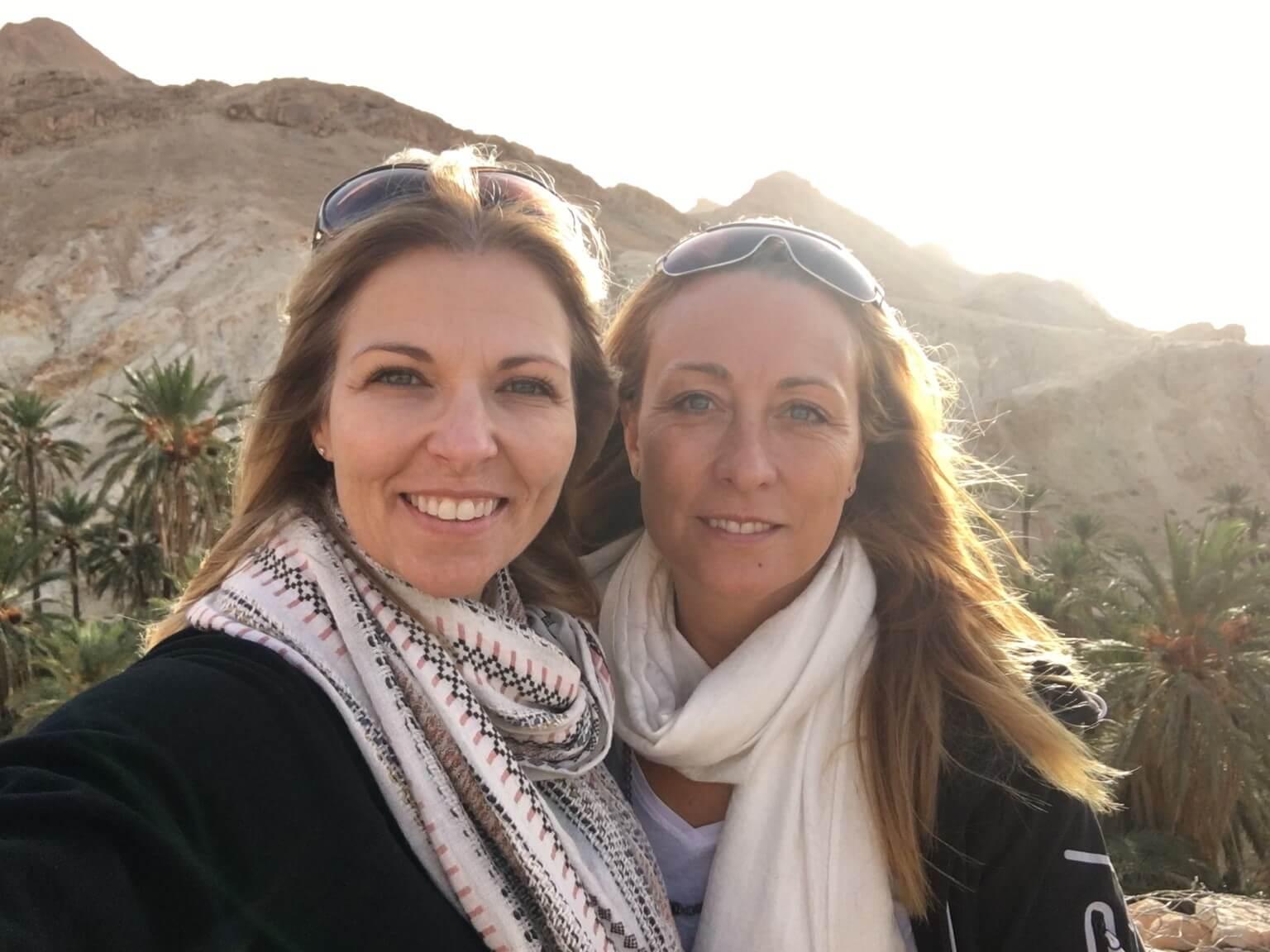 Marie-Josée Arel et Nancy Marcoux